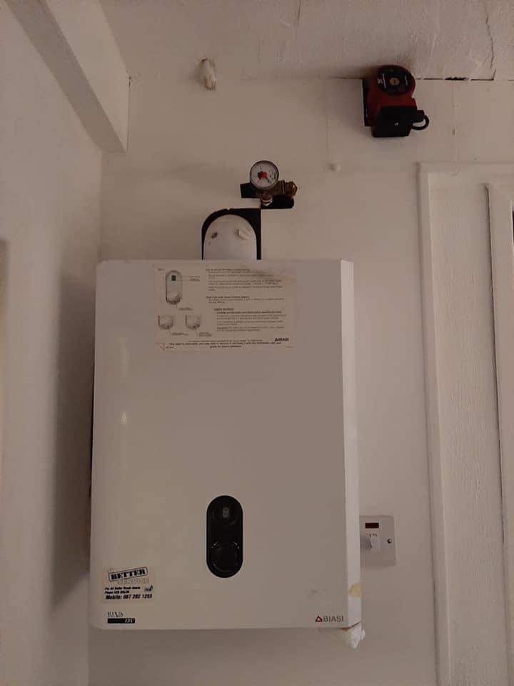 Before Boiler Replacement