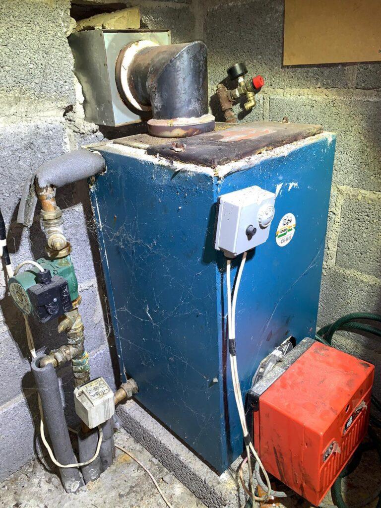 Boiler Replacement in Dunshaughlin, Meath - Before