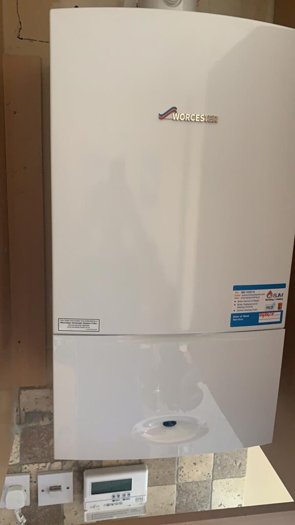 New Worcester Boiler Install in Clonee Meath After