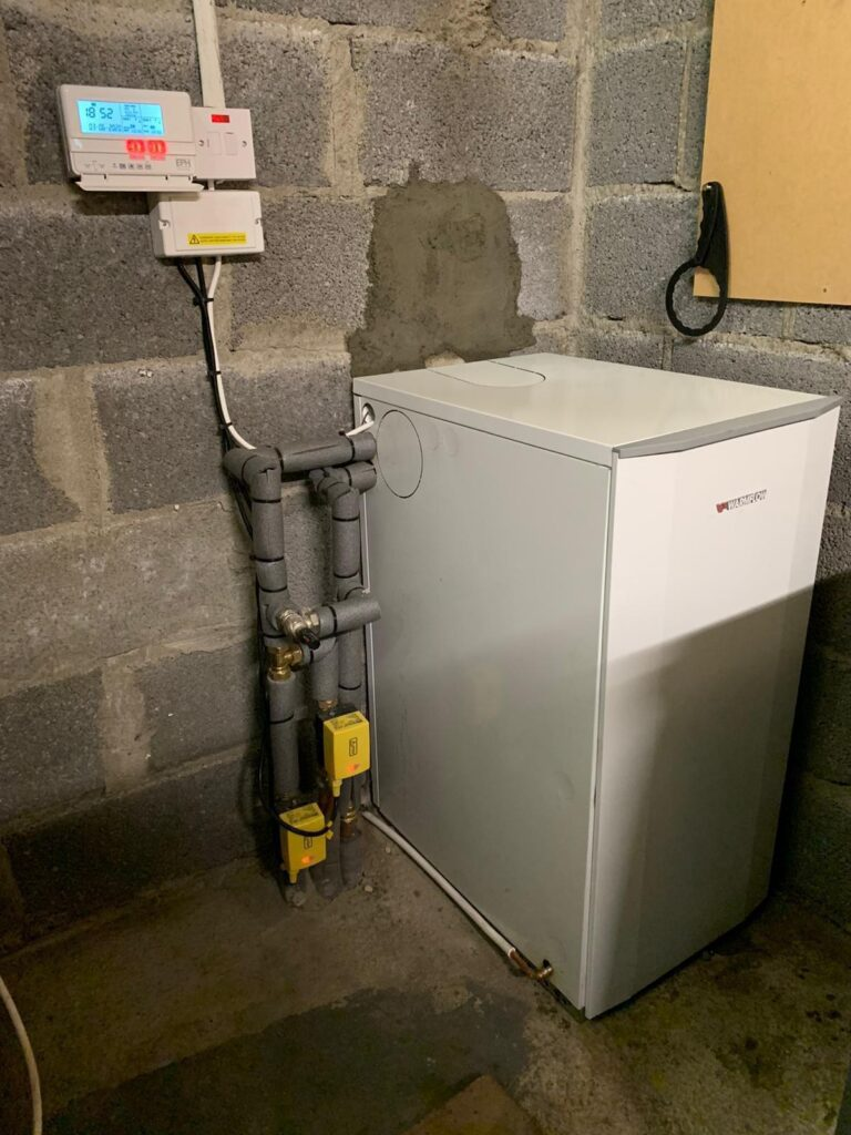 Warmflow Boiler Replacement in Dunshaughlin, Meath - After