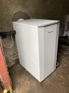 Abshourne New Oil Boiler - Warmflow Utility Model 26KW