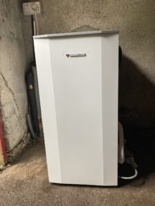 Abshourne New Oil Boiler - Warmflow Utility Model 26KW in Garage